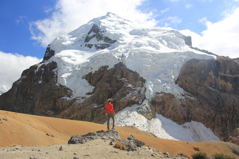 Portachuelo Pass, 15,600ft.