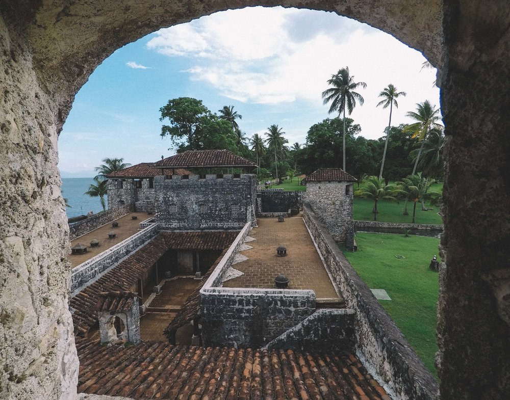 A quick visit to Castillo de San Felipe de Lara.