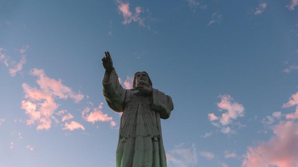 Mirador del Cristo de la Misericordia.