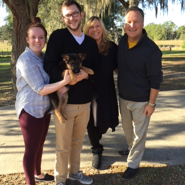 """A new family and a new name … meet """"Zelda."""""""