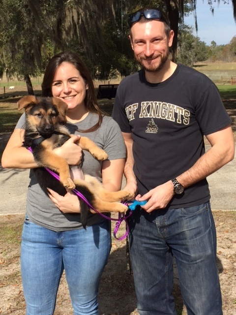 """A new family and a new name … meet """"Harley."""""""