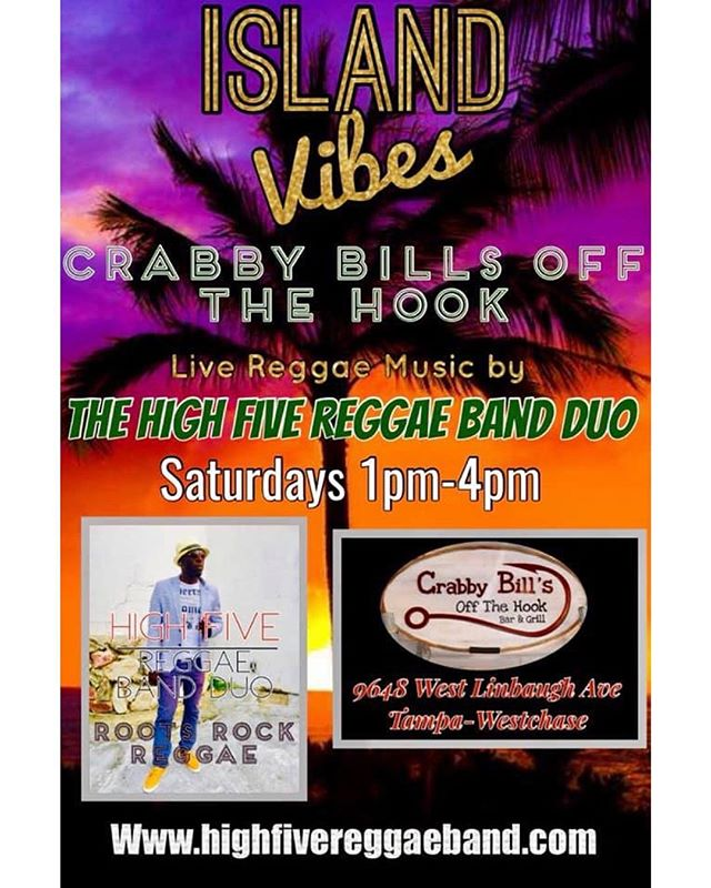 Ready for a shamrockin' good time? 🎶 Live music 1-4pm with High Five Reggae Band and 7-10pm with Mickey Hardie 🍻 Happy hour 11am-7pm and late night drink specials 9:30pm-close! 🦀 Fresh seafood 🍀 St. Patrick's Day food & drink specials! • • • #crabbybillsoth #crabbybills #westchase #pinellas #hillsborough #happyhour #livemusic #tampabay #seafood #dontworrybecrabby #offthehook #tampa #the33626 #supportlocal #eatlocal #drinklocal #whatshappeningwestchase #tampafoodie