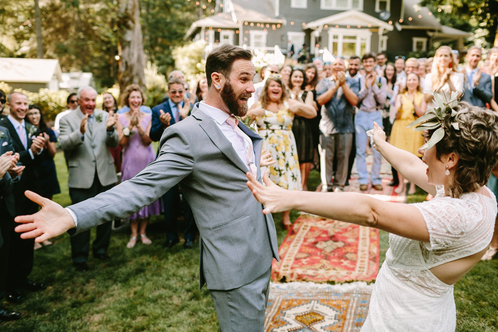 8 Ways to Add More Joy to Your Wedding day - I'm sure you've already heard that your wedding day will fly by in the blink of an eye, but that doesn't mean you can't proactively plan for a few moments to appreciate the splendor of the day. Download these 8 ways that you can meaningfully add joy to your wedding day!