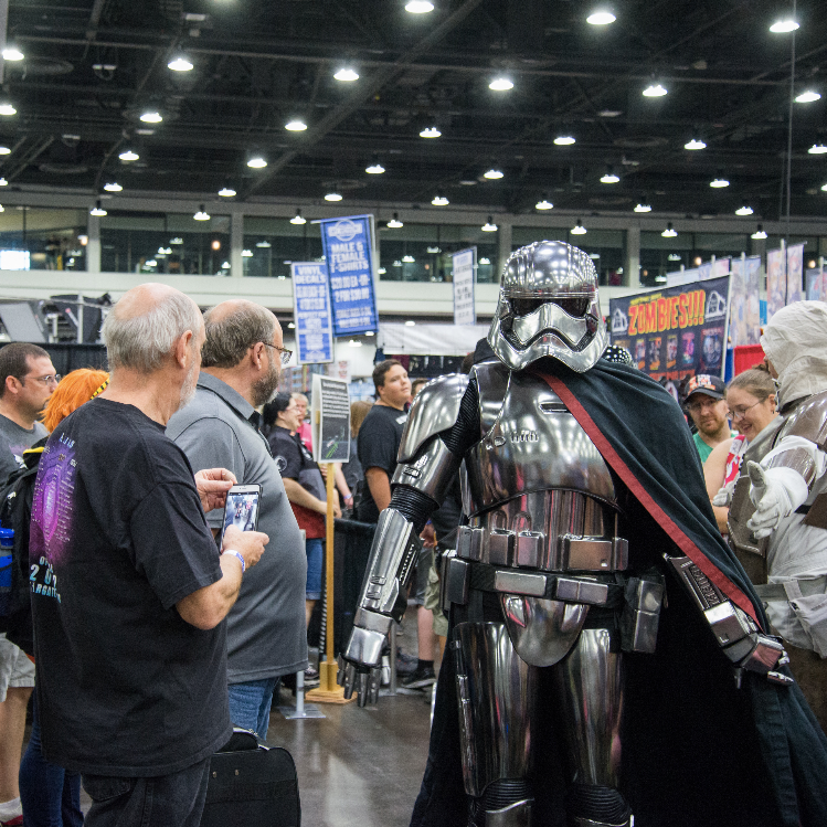 IN A GALAXY FAR FAR AWAY - CINCINNATI COMIC EXPO