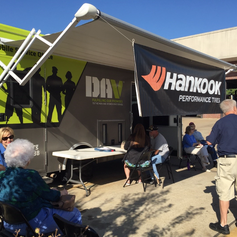 BRINGING BENEFITS TO VETS - DISABLED AMERICAN VETERANS (DAV) / HANKOOK TIRE