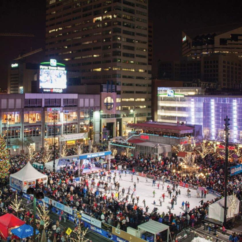 HOLIDAY MEDIA BLITZ - DOWNTOWN CINCINNATI INC