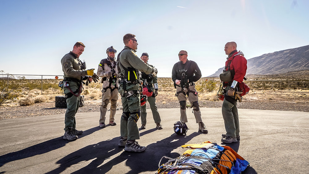 VOlunteer With US - Do you have what it takes to become a hero? Learn what you need to do to join the LVMPD Search and Rescue unit!