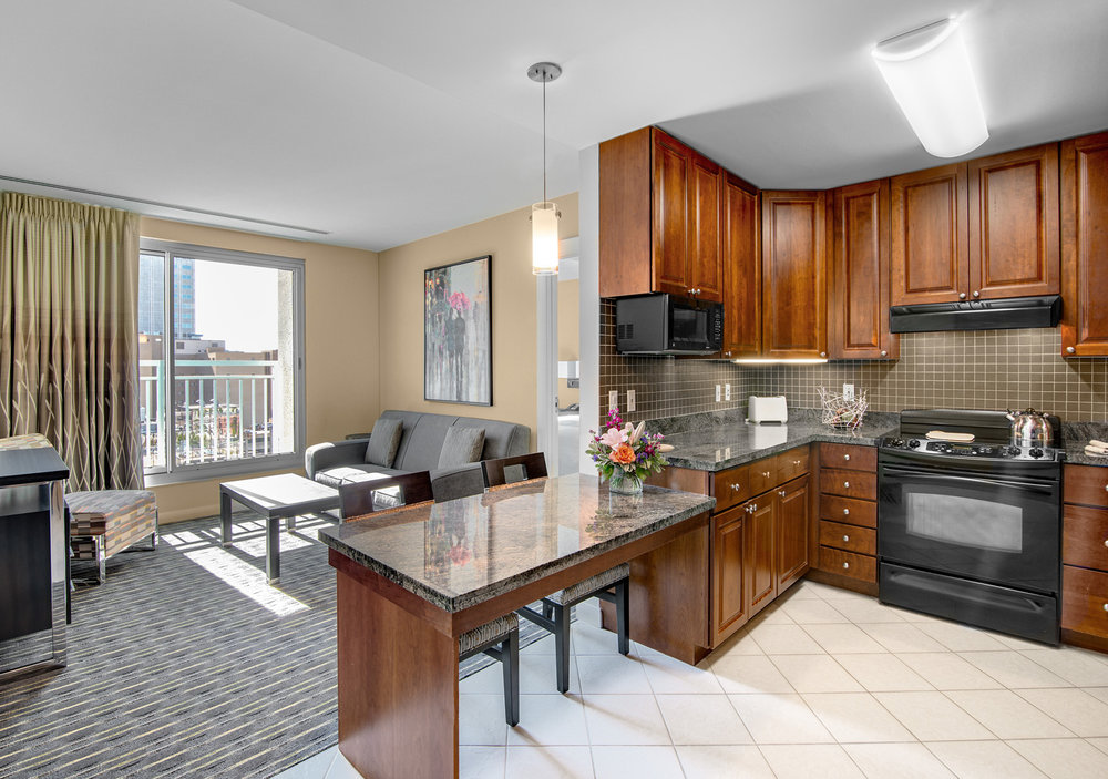 2 Bedroom Apartment Living & Dining Area