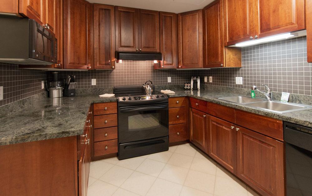 Apartment Hotel Full Kitchen
