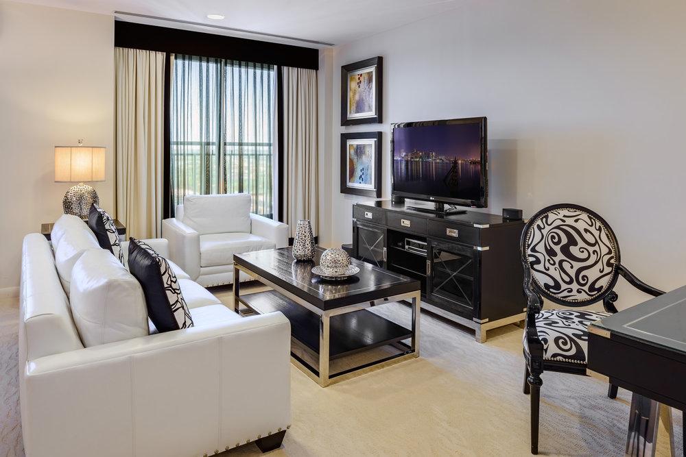 Apartment Hotel Living Area