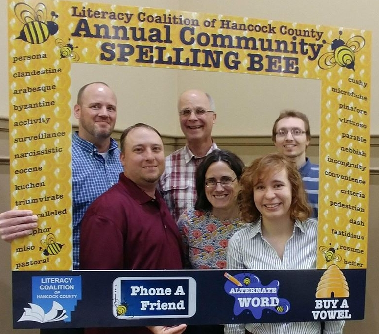 spelling bee - The Spelling Bee is our signature event, as well as a fundraiser for the coalition. Teams work together during a 12-round Spelling Bee to spell as many words correctly as they can. The winning team gets a trohpy and bragging rights.
