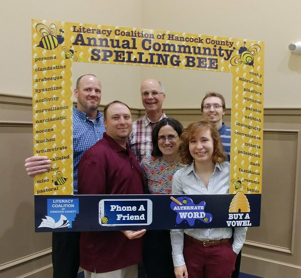2018 Spelling Bee Champs - The Courier Team
