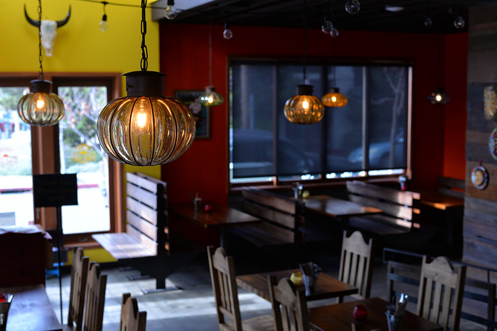 Cantina del sol - This project exemplified our willingness to work with difficult conditions. The Mexican restaurant was to be fully renovated, replacing the Northwestern faire before it, in 10 days. We completed the job in nine.