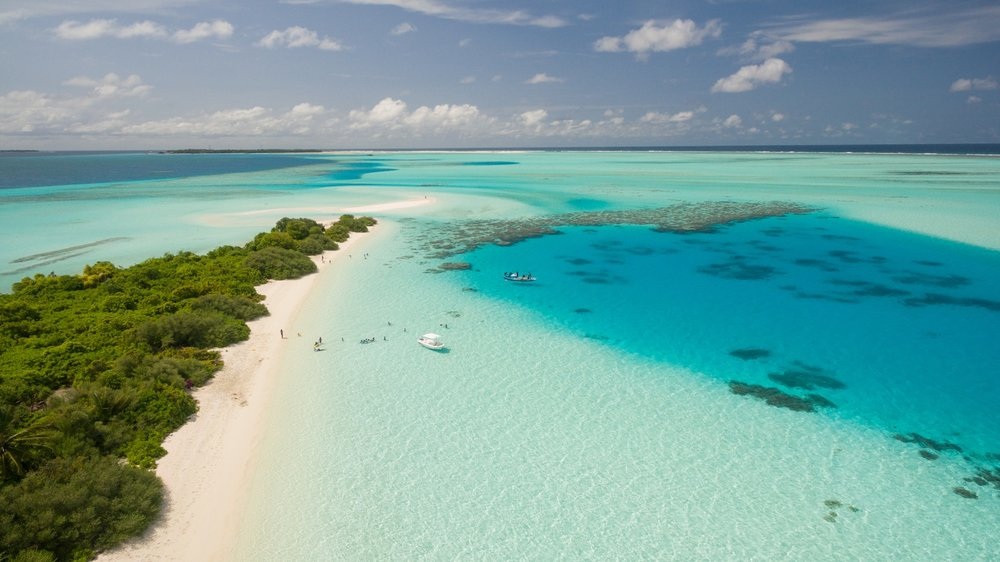 Sandy beaches perfect for a wedding in the Maldives