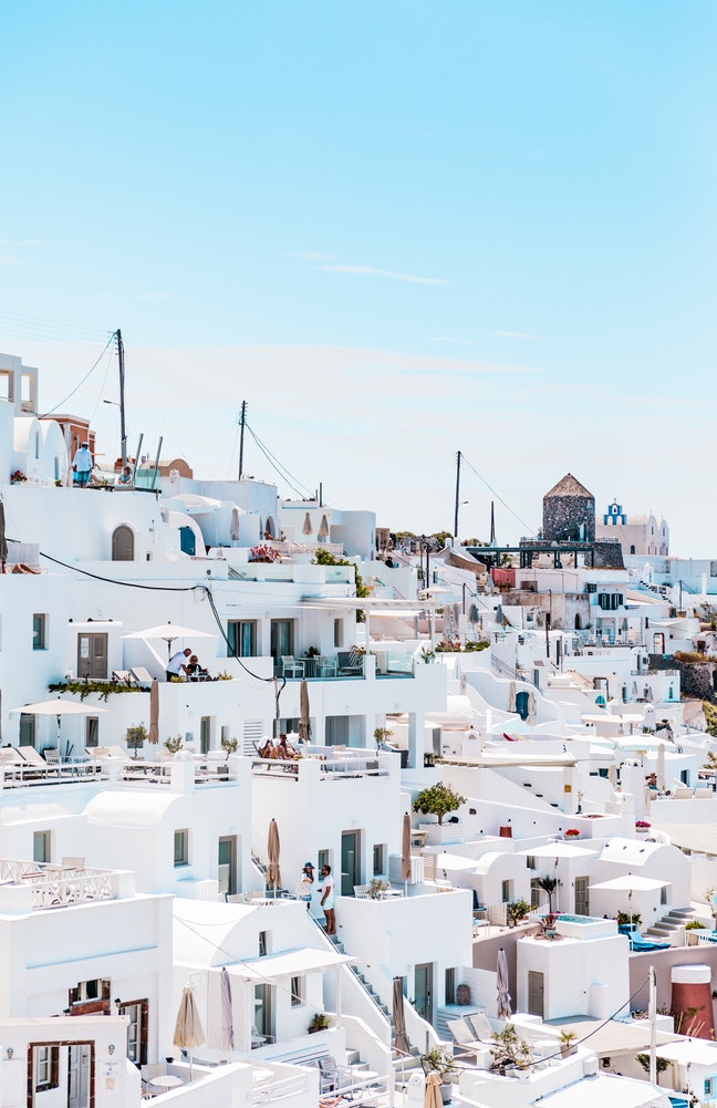 Picture perfection location for a wedding in Greece