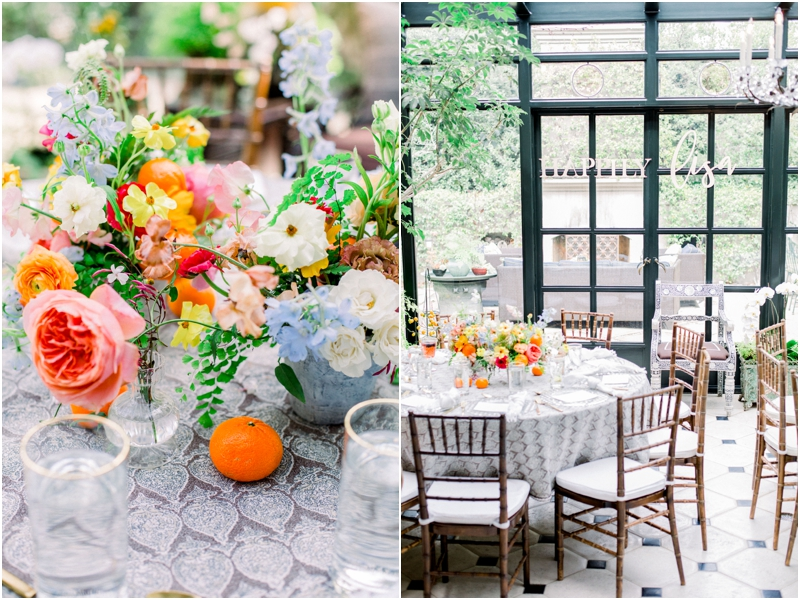 french inspired luncheon