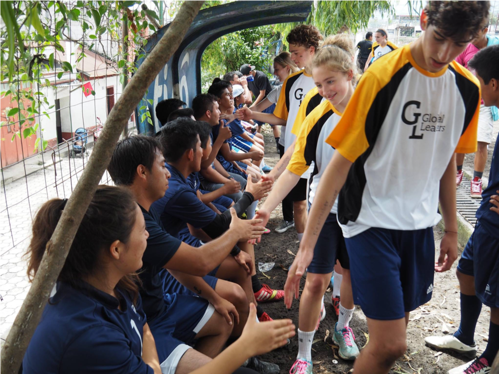 Global Leaders annual soccer game in Guatemala