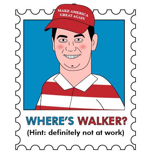 Where is Walker?