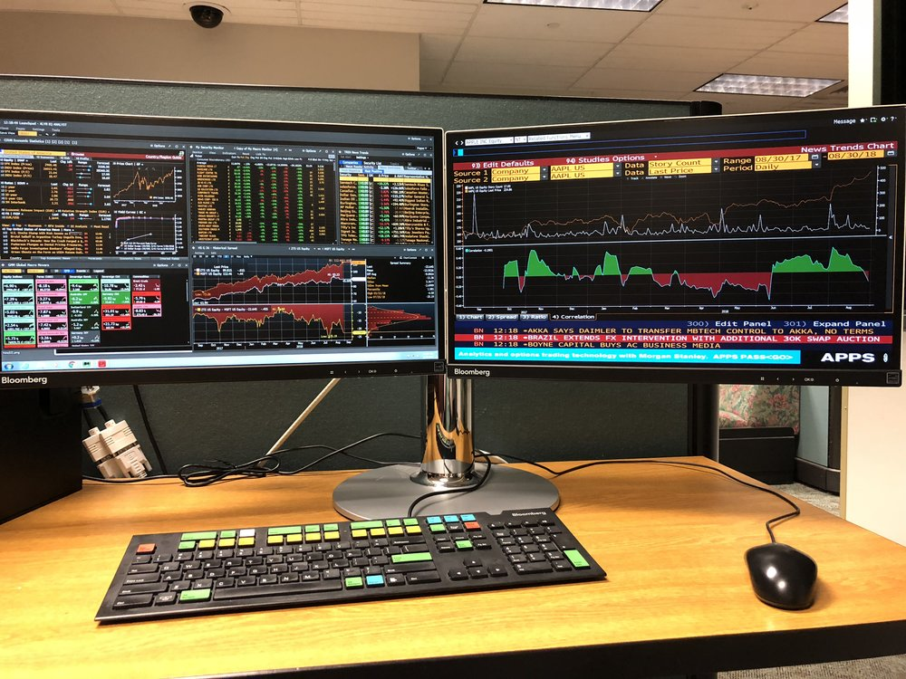 Portfolio - Members use industry standard market data to conduct research and develop trading ideas. We have a student-managed investment portfolio with equities in all sectors of the market.