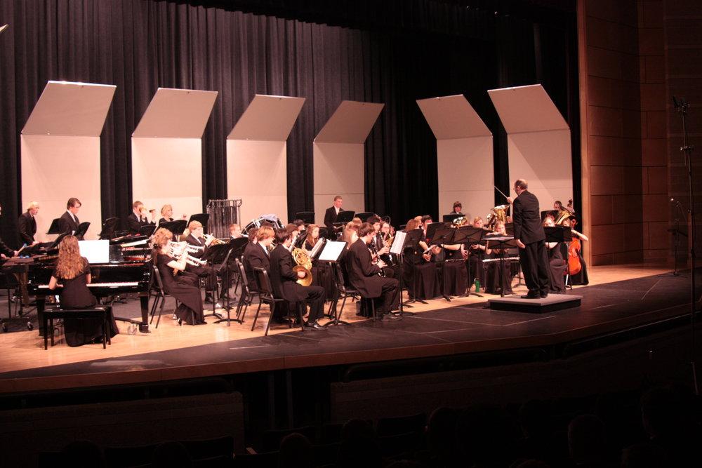 CBA Northern Regional Concert Band Festival at Fossil Ridge High School