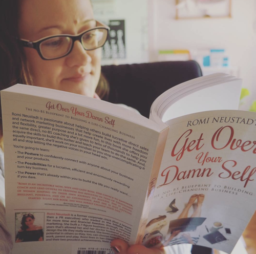 get over your damn self the nobs blueprint to building a lifechanging business english edition