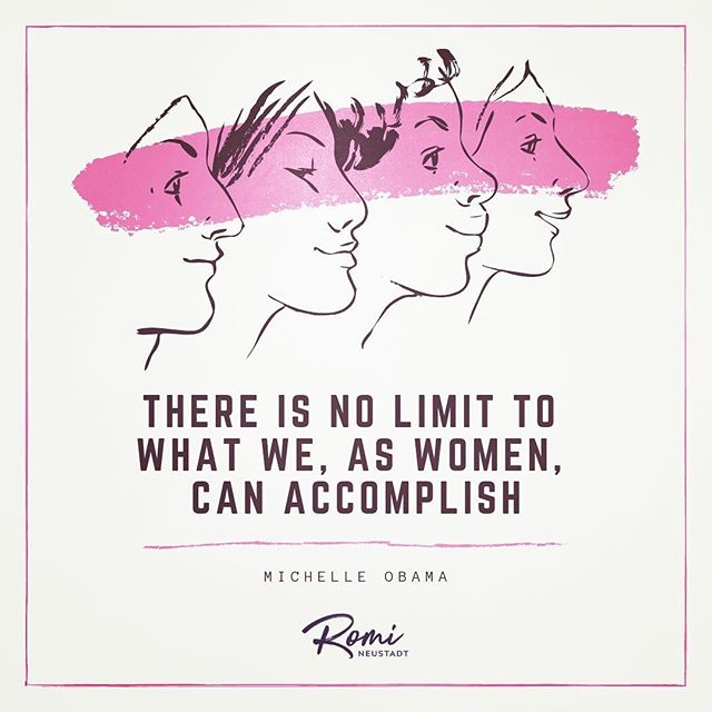 There is no limit. But we must be brave and take risks and make our voices heard. We must know our worth, our boundaries and our priorities. We must embrace collaboration over competition, because we're so much stronger together. We must realize we're all connected, and empowering one woman empowers us all. And we must finally believe—to our core— that we are enough. #internationalwomensday
