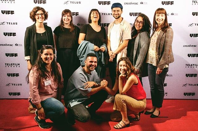 Excited for #viff2018 mentorship program! Look at all my new mentee friends and their cute faces 😸 . . . #film #filmfestival #filmmaking #filmmaker #cinema #cinemtography #cinematographer #dop #camera #viff #vancity #vancouver #photography #photo #team #friends #femalefilmmaker #red #art #school #mentor #mentorship #artmaking #groupphoto #redcarpet #behindthescenes