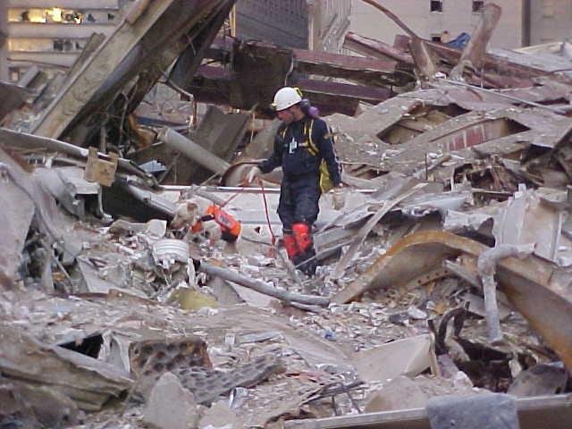 Erick @ Ground Zero 2001 - Photo: Erick Robertson