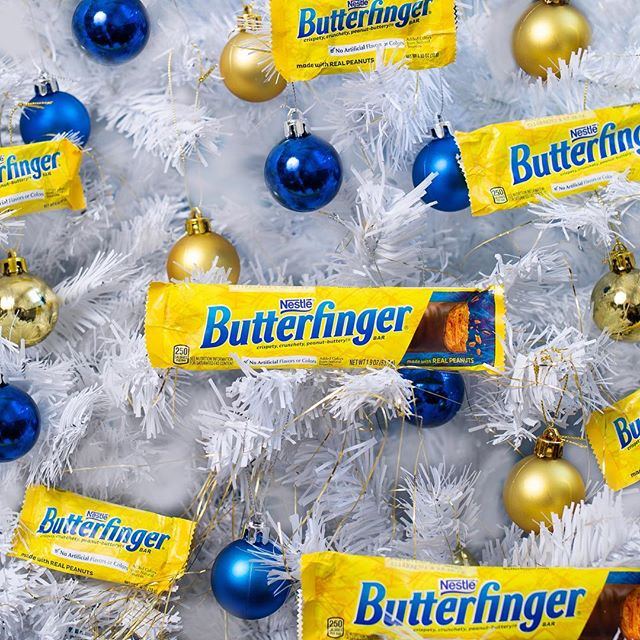 "Dropping our new single this week: ""O' Butterfinger Tree"""