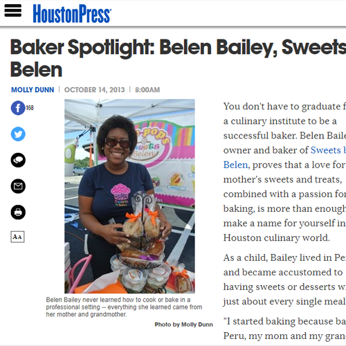 Baker Spotlight: Belen Bailey, Sweets by Belen -