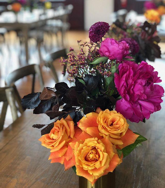 Party time 💃💃💃 Last weeks fun and bright celebration . . . . . . . #floreticaflorist #christchurchflorist #nzflorist #vodafonexone #flowers #instablooms #flowers #flowerstagram #roses #peonies