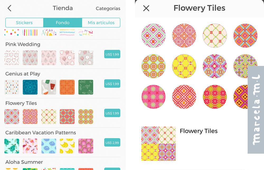 Pic.Collage- Fondos para App de teléfono celular