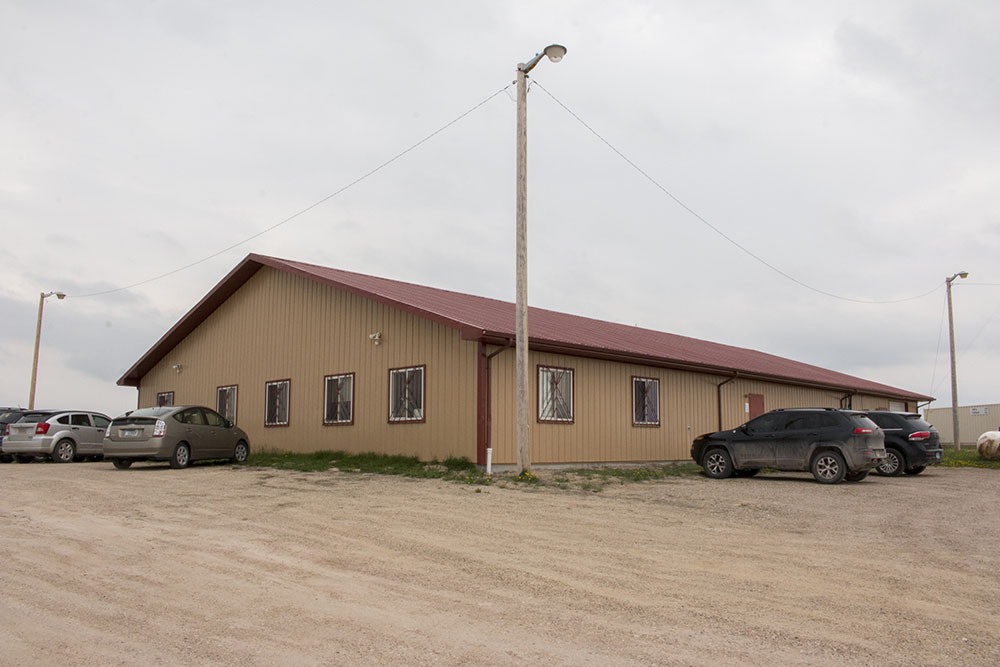 The Tanka office in Kyle, South Dakota.