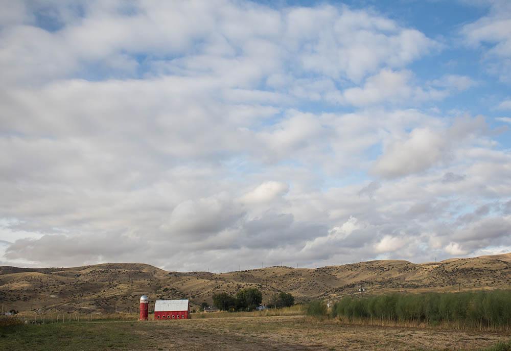 Peaceful Belly Farm in Boise, Idaho.