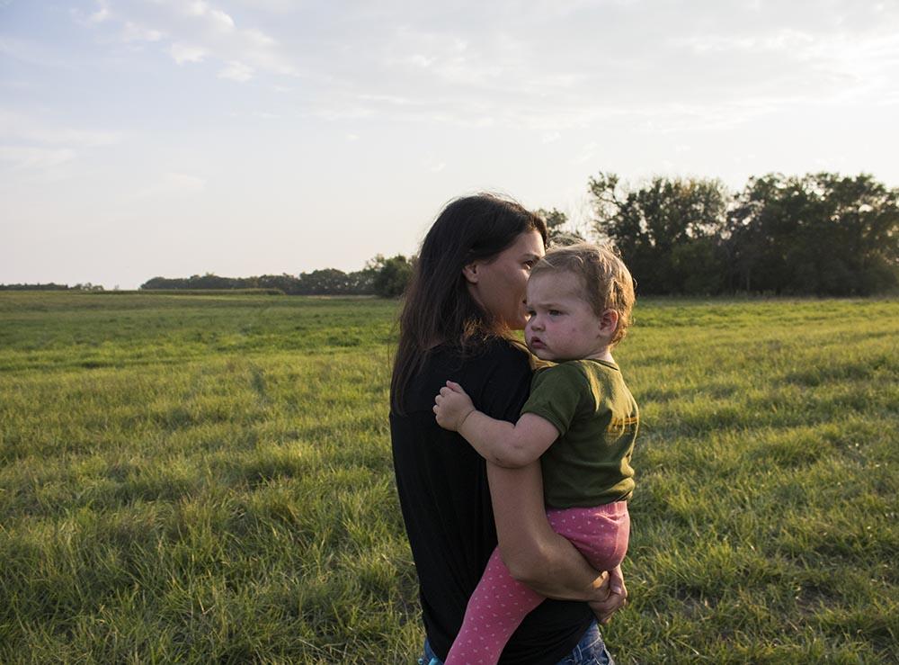 Hyatt Family Farm in Milbank, South Dakota.