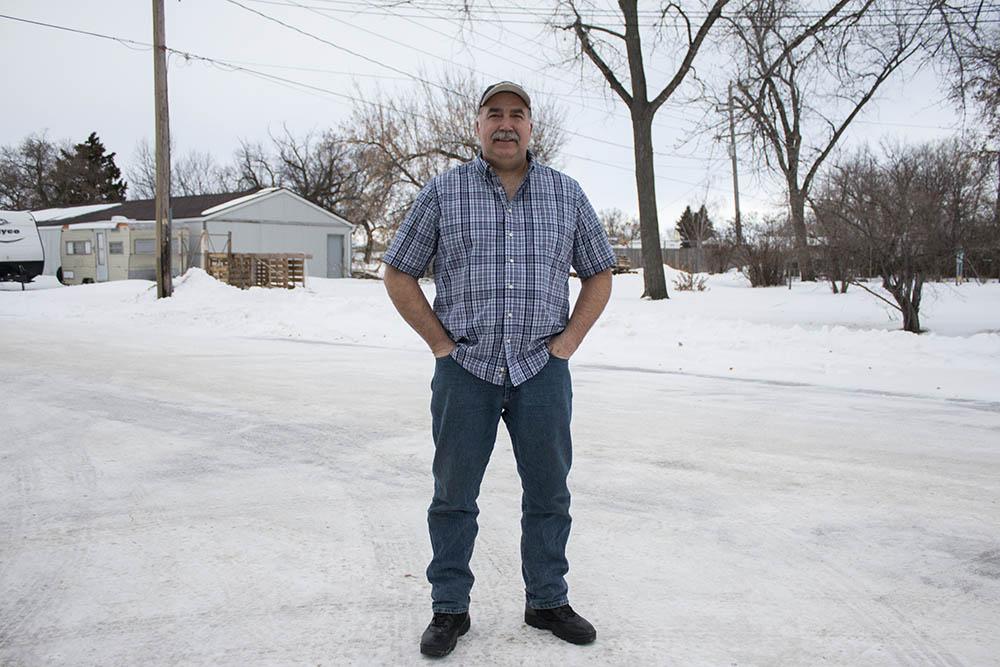Jeff Kenner in Devils Lake, North Dakota.