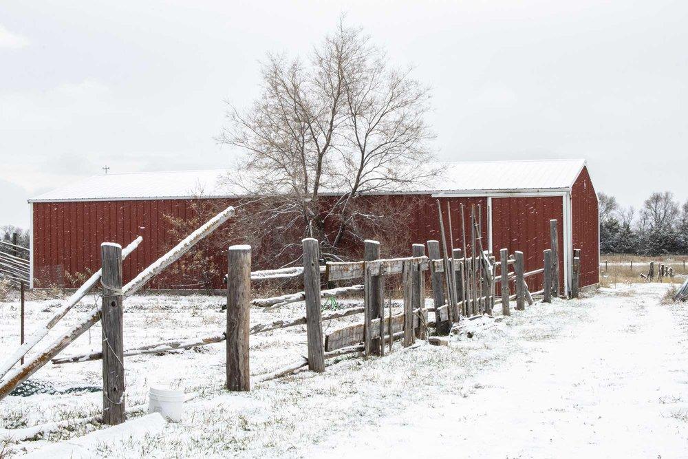 B&G Produce, 20 miles east of Pierre, South Dakota.