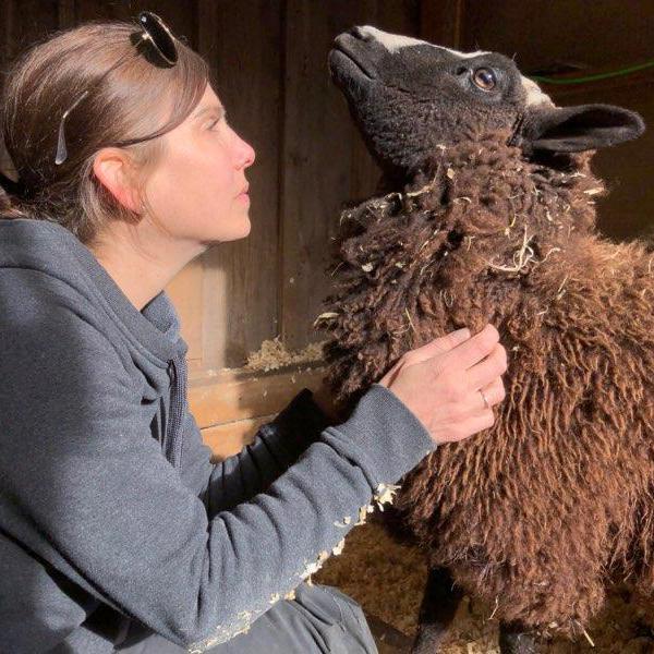 Dawn Barson Riley Farm Rescue Volunteer.jpg
