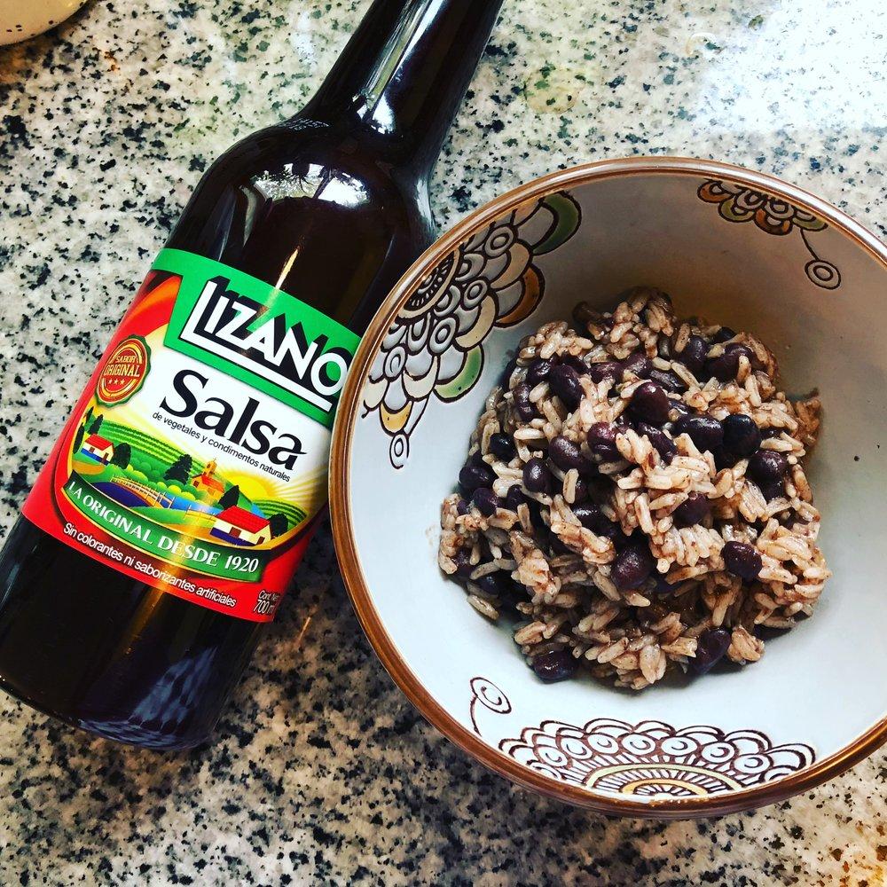 The beloved Salsa Lizano