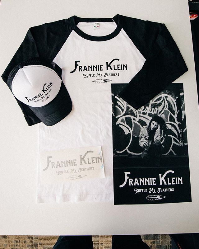 Hurry up and grab some of @franniekae 's merch before it's too late! I'm not sure when we'll be doing another run!