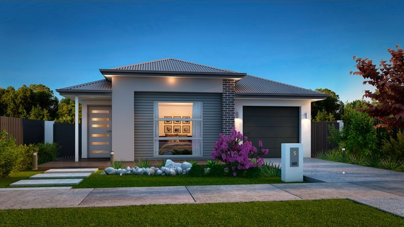 The Aries - 3 Bed   2 Bath   1 Car Garage10m Traditional Lots