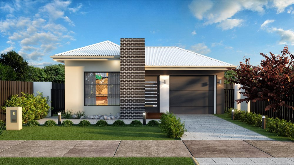 The Nova - 3 Bed | 2 Bath | 1 Car Garage10m Traditional Lots