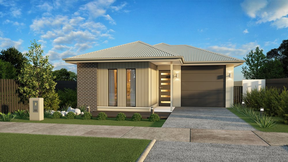 The LW - 3 Bed   2 Bath   Theatre Room   1 Car Garage10m Traditional Lots
