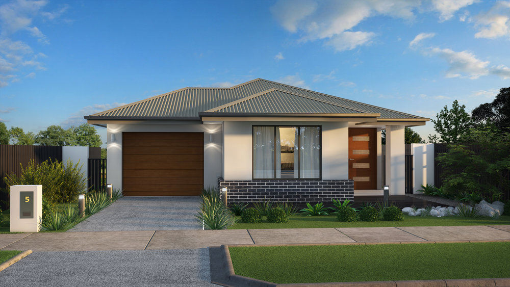 The Device - 3 Bed   2 Bath   1 Car Garage10m Traditional Lots