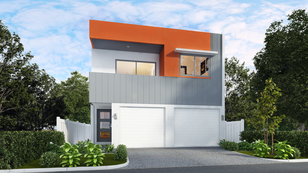 The Parkview 1 - 1 Bed | 1 Bath | 1 Car Garage7.5m Dual Occupancy Laneway Lots