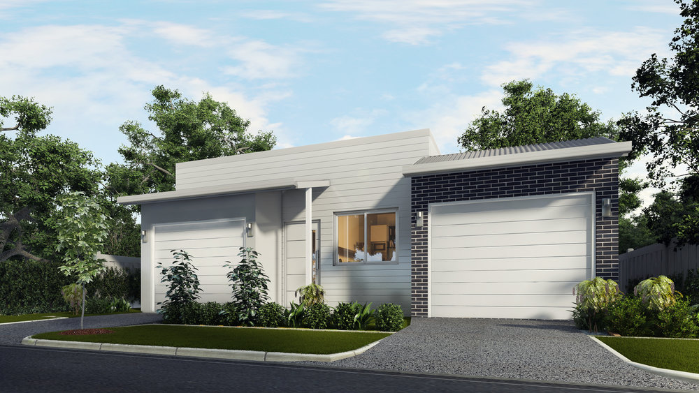 The Hybrid 1 - 1 Bed | 1 Bath | 1 Car Garage10m Dual Occupancy Laneway Lots