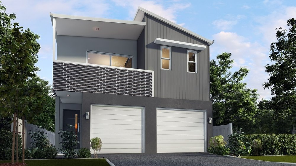 The Mogul 1 - 1 Bed | 1 Bath | 1 Car Garage8.5m Dual Occupancy Laneway Lots