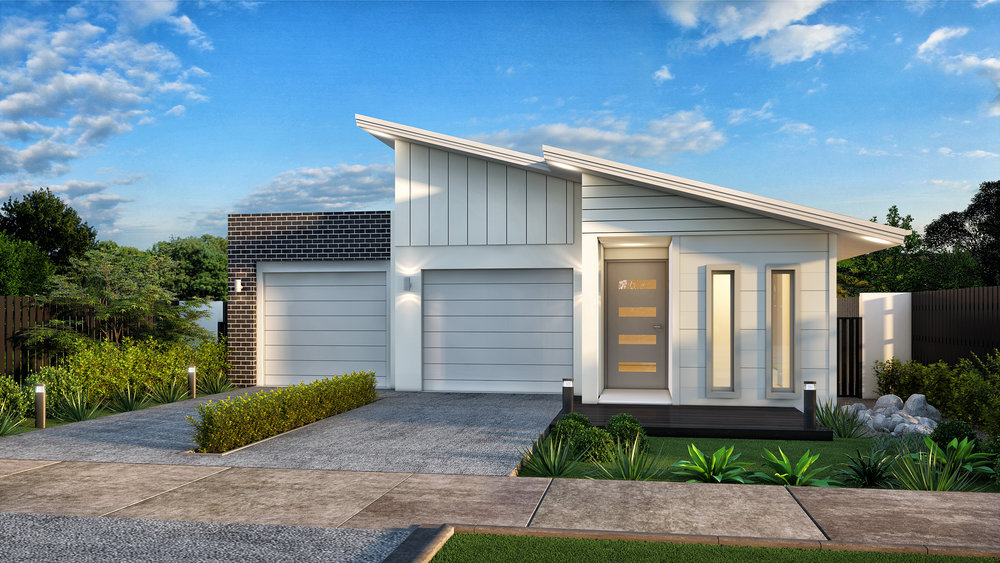 The Onyx - 3 Bed   2 Bath   2 Car Garage   Room for Boat11m Traditional Lots