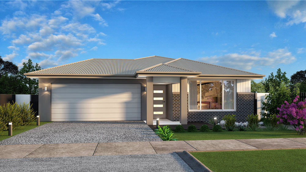 The Cube 3 - 3 Bed   2 Bath   2 Car Garage12.5m Traditional Lots
