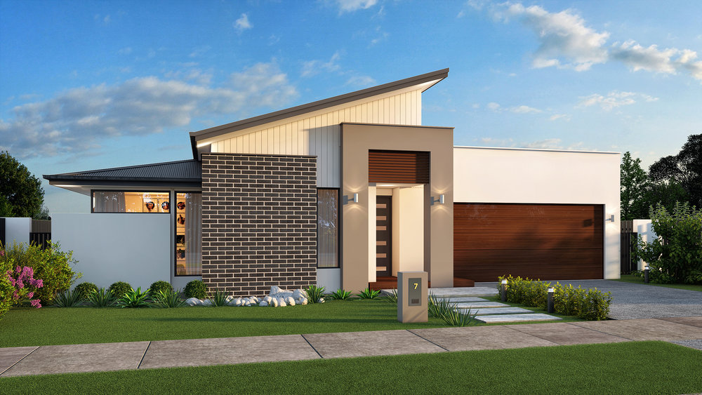 The Herald - 3 Bed   2 Bath   Theatre Room   2 Car Garage12.5m Traditional Lots